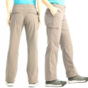 L.L. Bean Tan Comfort Trail Pants